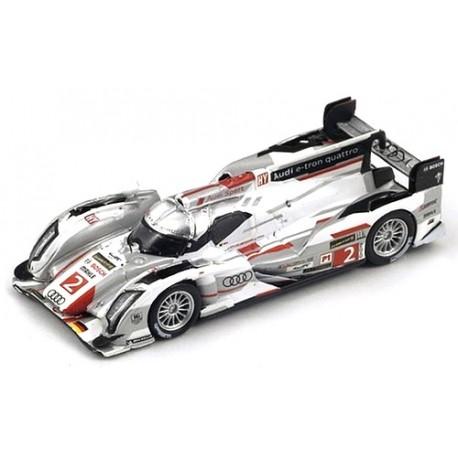 Audi R18 e-Tron Quattro - n° 2 - Vainqueur Le Mans 2013
