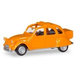 Citroen 2cv Malle arrière orange