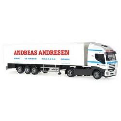 Iveco Stralis 07 + semi-rqe frigo Andreas Andresen (DK)
