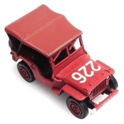 """Jeep Willys Pompiers bâchée """"226"""""""