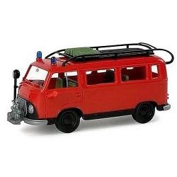 """Ifa W50 camion + remorque Porte engin """"Feuerwehr"""""""