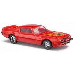 Pontiac Transam 1970 coupé rouge