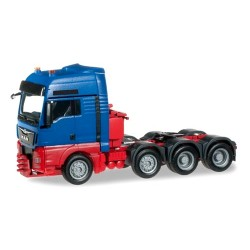 MAN TGX XXL 560 Euro 6 Tracteur solo 8x4 bleu