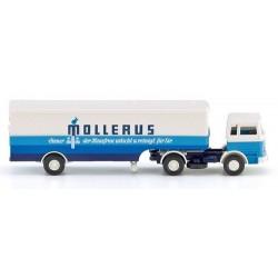 """MB 1620 + semi-remorque fourgon """"Mollerus"""""""