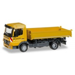 """MB Atego 10 camion tri-benne """"Leonhard Weiss"""""""