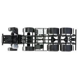 Set de 2 châssis porteur 8 x 4 MB Actros pour camion benne ou toupie
