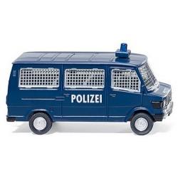 """MB 207 D minibus protégé per une grille de la """"Polizei"""""""