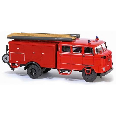 Ifa W50L camion pompiers LF16-TS8 rouge (sans marquage)