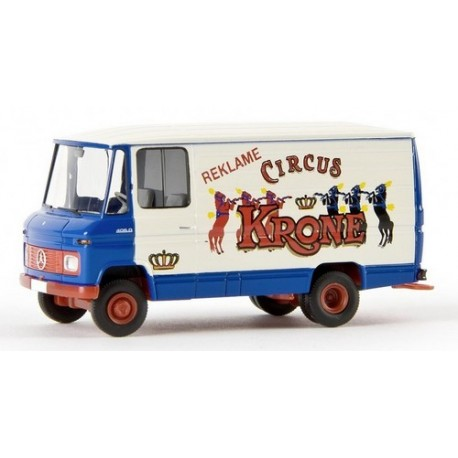 """MB L 406 D fourgon """"Circus Krone Reklame"""""""