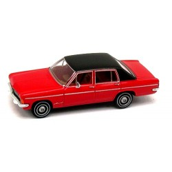 Opel Admiral B berline 1969 rouge à toit noir