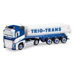 "Volvo FH '13 + semi-remorque benne Carnehl ""Trio-Trans"""