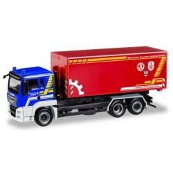 """MAN TGS L E6 camion Pte berce """"THW Dachau / Feuerwehr Landkreis Dachau"""""""
