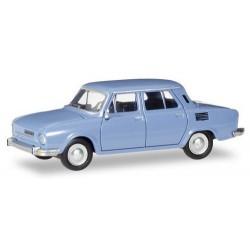 Skoda 110 L berline 4 porets 1969 blanche