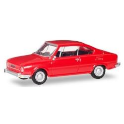Skoda 110 R coupé 1970 rouge