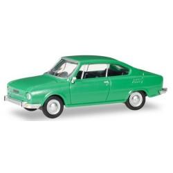 Skoda 110 R coupé 1970 vert