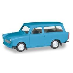 Trabant 601 S Universal bleu ciel