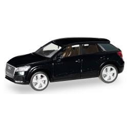 Audi Q2 noir mythos métallisé