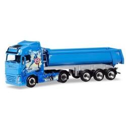 """Volvo FH GL 13 + semi-remorque benne """"Trans """"Avengers Truck"""""""