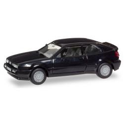 "VW Corrado noir 1988 ""Herpa-H-Edition"" avec plaques d'immatriculation"
