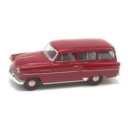 Opel Olympia CarAvan 1954 rouge rubis