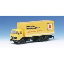 MB S camion fourgon DMS Carl Balke