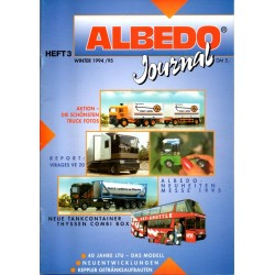 Albedo Heft 3 - Winter 1994/95 (revue trimestrielle)