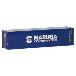 """container 40' crénelé """"Maruba"""""""