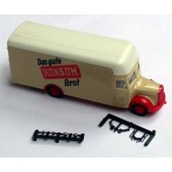 MB L 311 camion fourgon Konsum Brot