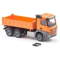 MB Arocs M camion tri-benne 6x4 orange