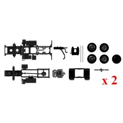 Set de 2 châssis tracteurs MB SK (kit à monter)