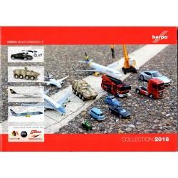 catalogue général Herpa 2016