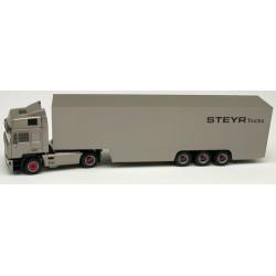 "Steyr F 2000 Co + semi-remorque fourgon carénée ""Steyr Trucks"""