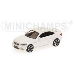 BMW M2  coupé 2016 blanc