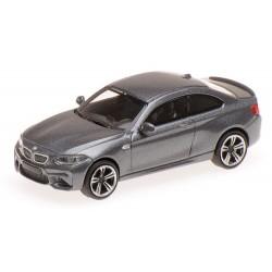 BMW M2  coupé 2016 gris foncé métallisé