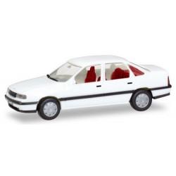 Opel Vectra A 1988 berlien blanche avec plaques d'immatriculations (Série H-Edition)