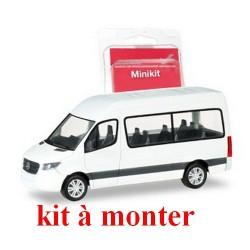 MB Sprinter 2018 mini_bus toit réhaussé blanc (kit à monter)