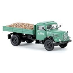 """Steyr 480 camion benne avec chargement de gravier """"Schwarzbau"""""""