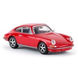 Porsche 911 (type 901 - 1966) coupé rouge