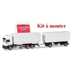 Steyr F2000 Commander camion + rqe Pte caisses bâchées - kit à monter