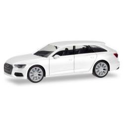 Audi A6 Avant (C8 - 2018) blanc ibis