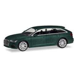 Audi A6 Avant (C8 - 2018) vert avalon métallisé