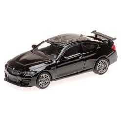 BMW M4 GTS 2016 noire métallisée à jantes alu