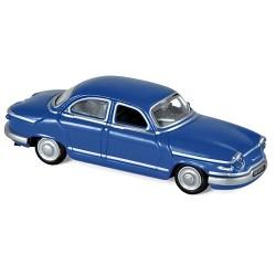 Panhard Dyna PL17 berline 1961 bleu atlantique