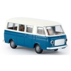 Fiat 238 minibus 1967 bleu et blanc