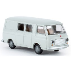Fiat 238 fourgon mi-vitré 1967 gris clair
