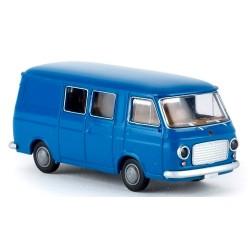 Fiat 238 fourgon mi-vitré 1967 bleu