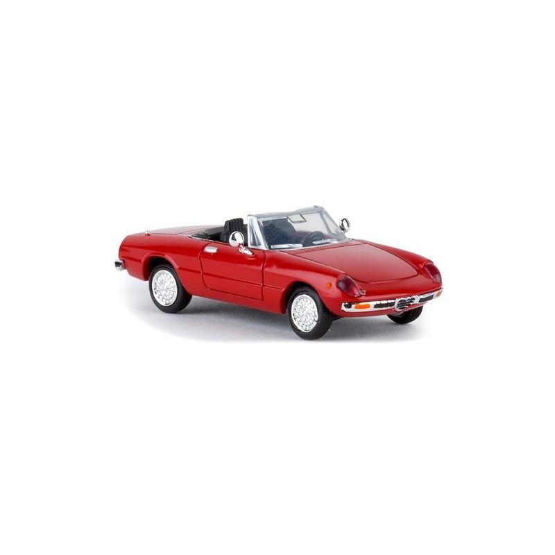 Alfa Romeo Spider Duetto 1969 (coda Tronca) Rouge
