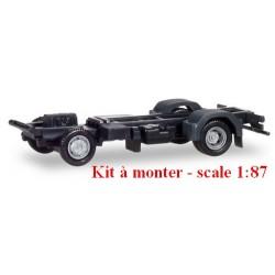 Set de 2 châssis camion tri-benne MB Atego (kit à monter)