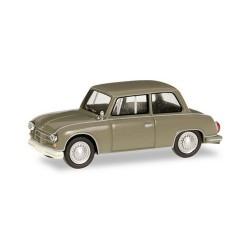 AWZ P70 berline (1955) vert beige