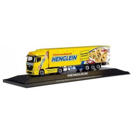 """MeBenz Actros Bigspace '11 + semi-remorque frigo """"Henglein"""" - PC"""